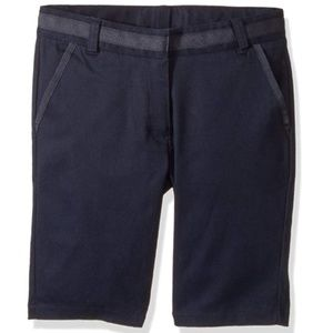 Nautica Girls' 16 Su Navy Twill Bermuda Short